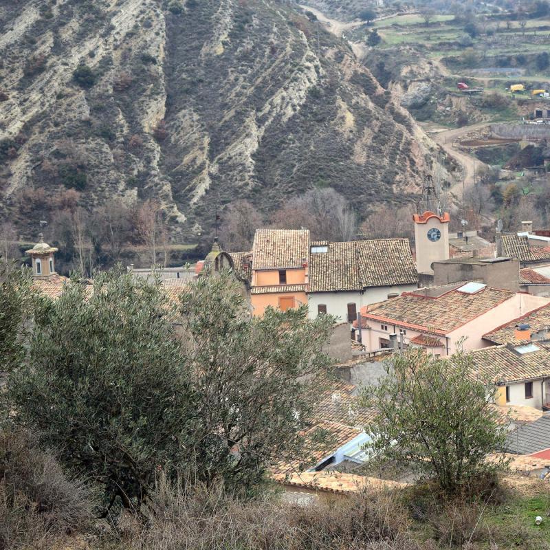 11.12.2016 poble  Sanaüja -  Ramon Sunyer
