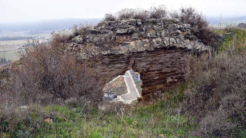 11.12.2016 castell  Sanaüja -  Ramon Sunyer