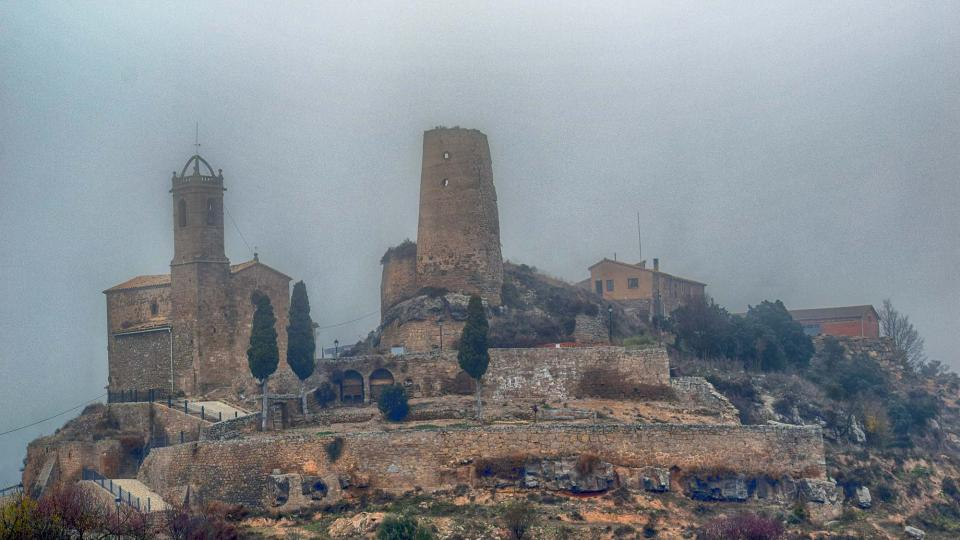 Castle of  Lloberola - Author Ramon Sunyer (2016)