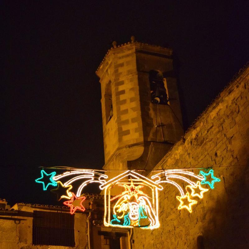 09.12.2016 plaça església  Torà -  Ramon Sunyer
