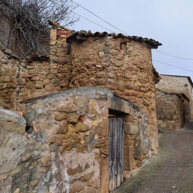 Vila vella Oliola - Autor Ramon Sunyer (2017)