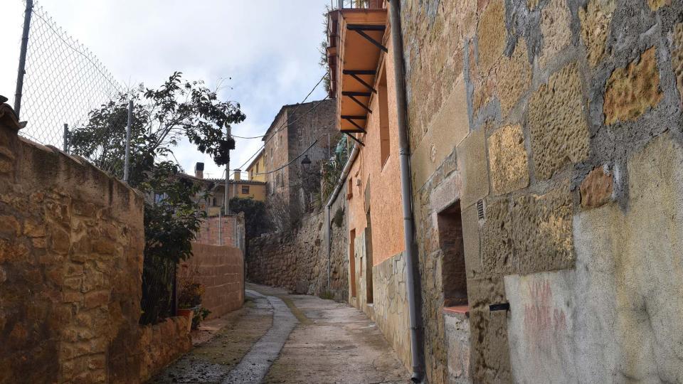Vieille ville Oliola - Auteur Ramon Sunyer (2017)