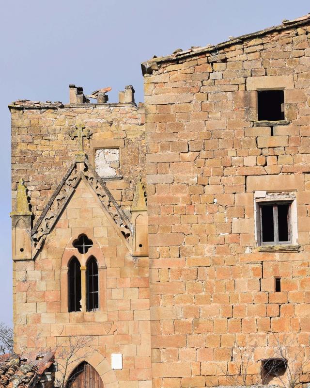 05.01.2017 Església de la Mare de Déu del Carme  Claret d'Oliola -  Ramon Sunyer
