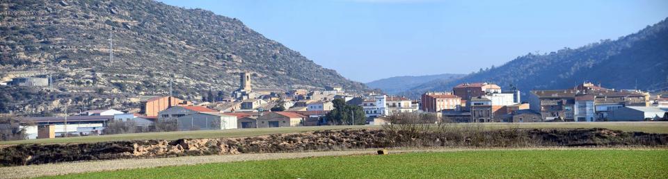 07.01.2017 Vista sud  Torà -  Ramon Sunyer