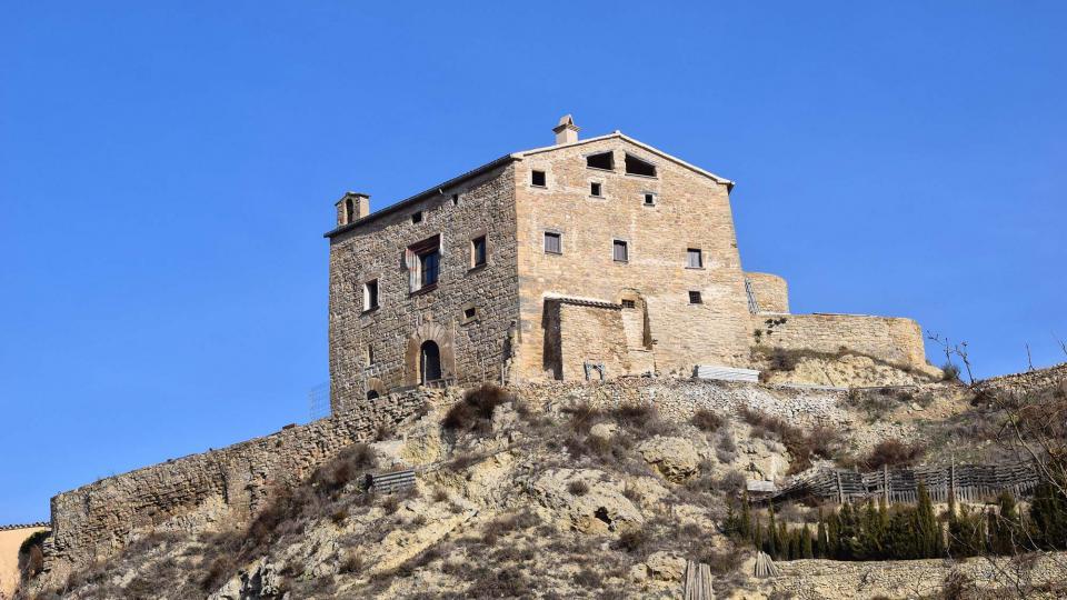 Castell de  Enfesta - Autor Ramon Sunyer (2017)