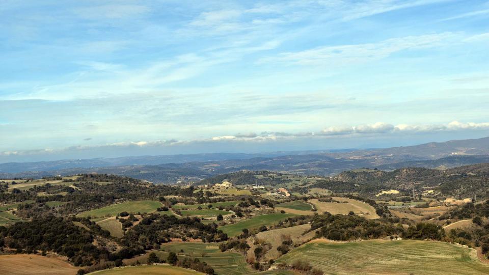 29.01.2017 Vista des de Conill  El Soler -  Ramon Sunyer
