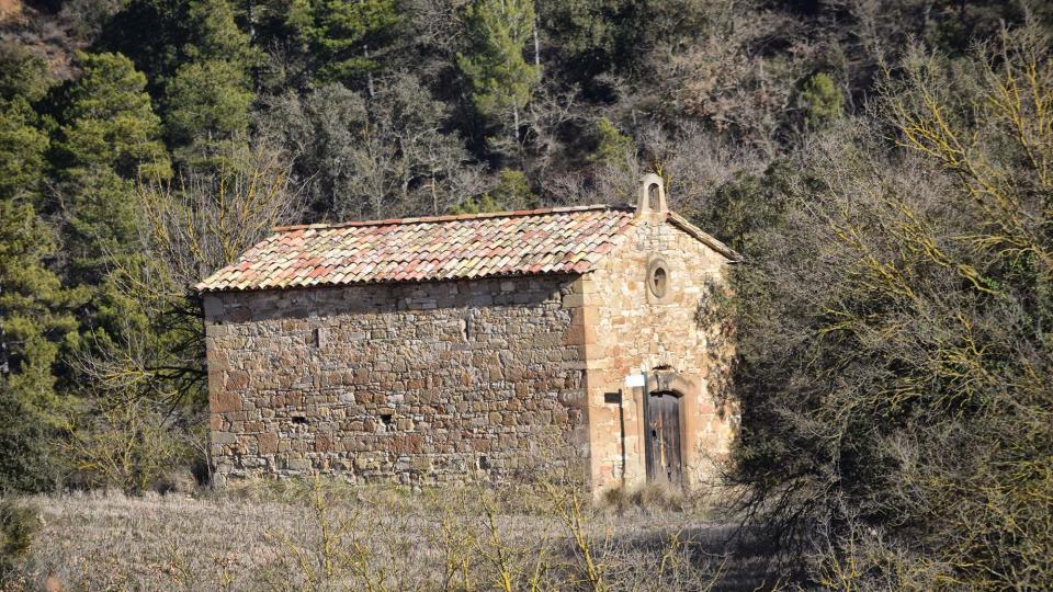 Capella de  Sant Pere de Magrà - Autor Ramon Sunyer (2017)