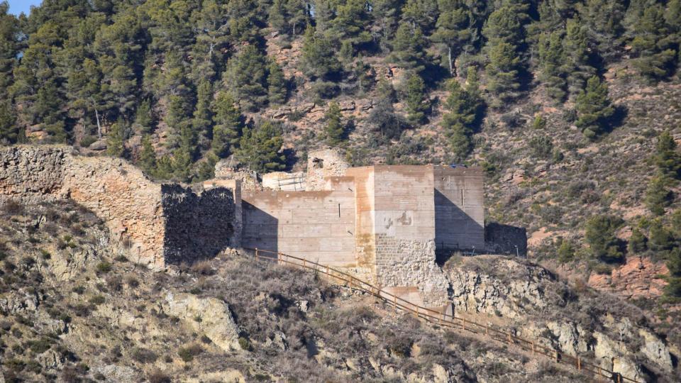 29.01.2017 Castell de sant Vicenç  Castellfollit de Riubregós -  Ramon Sunyer