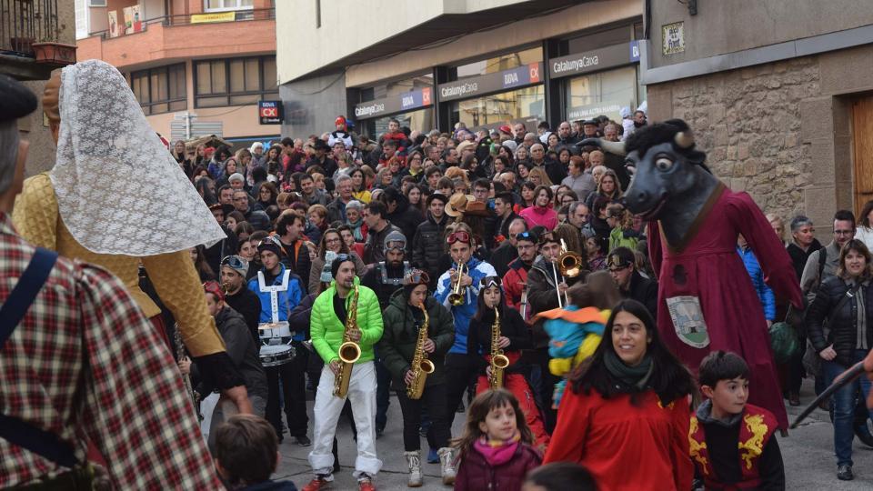 La Llordera congrega un nombrós públic Foto: Ramon Sunyer - Torà