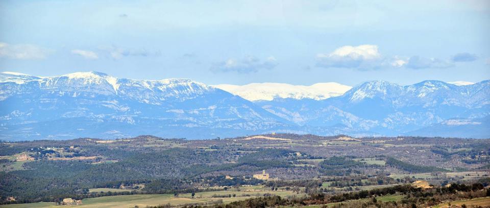 18.02.2017 pirineu nevat  Sant Just d'Ardèvol -  Ramon Sunyer