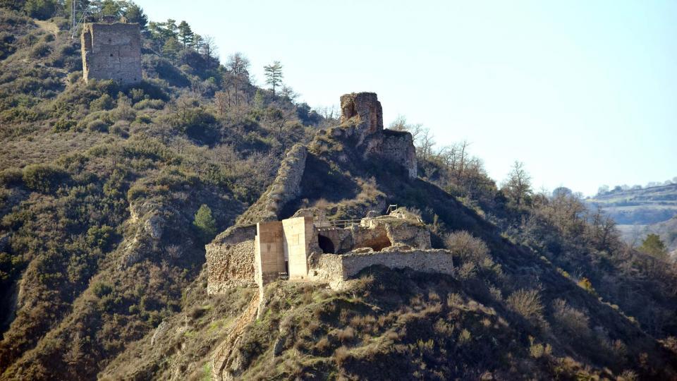 18.02.2017 castell  Castellfollit de Riubregós -  Ramon Sunyer