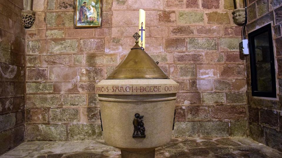 19.03.2017 Església de Santa Maria  Sanaüja -  Ramon Sunyer