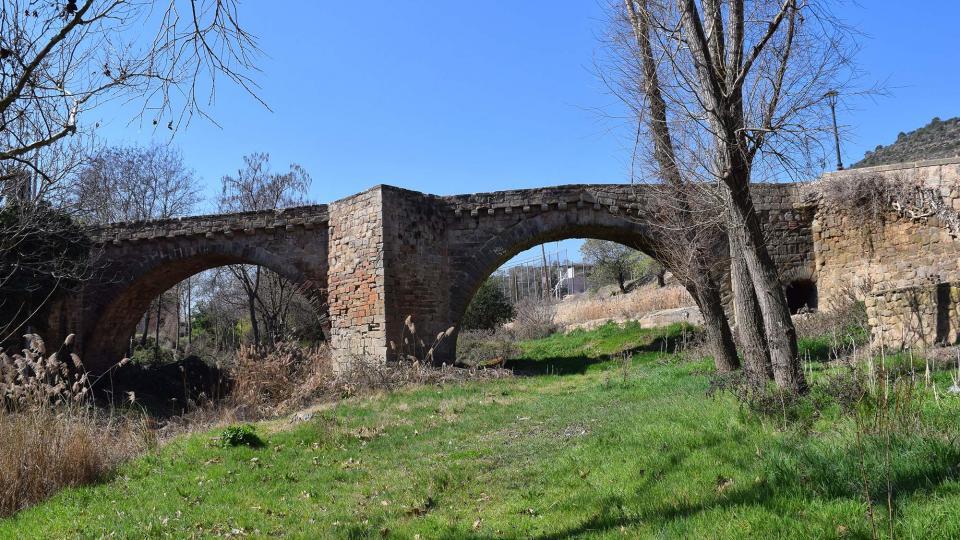 Puente de Sanaüja - Autor Ramon Sunyer (2017)