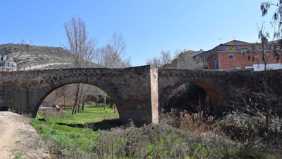 19.03.2017 pont medieval  Sanaüja -  Ramon Sunyer
