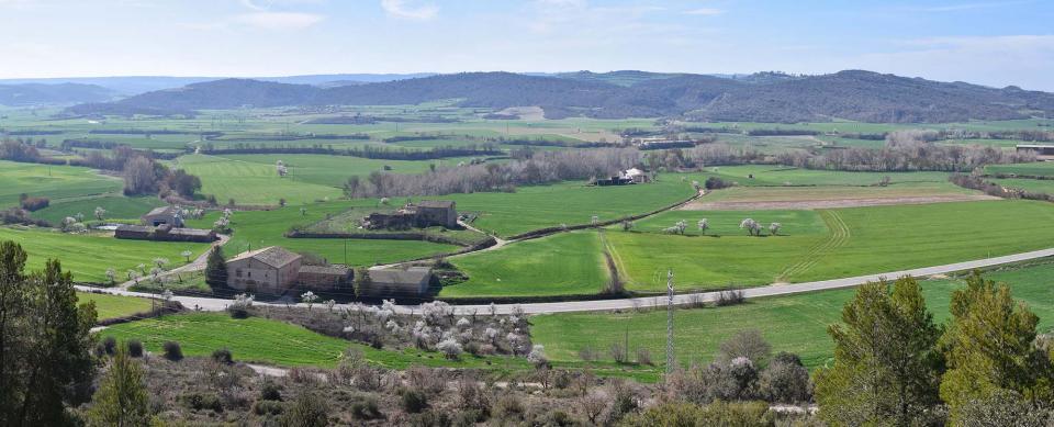 12.03.2017 panoràmica de la vall del Llobregós  L'Aguda -  Ramon Sunyer