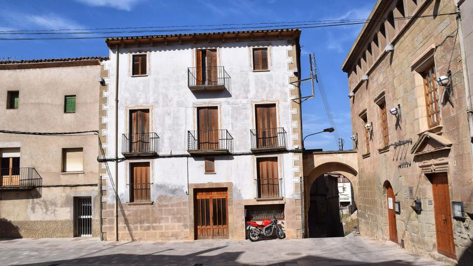 12.03.2017 plaça del Vall  Torà -  Ramon Sunyer