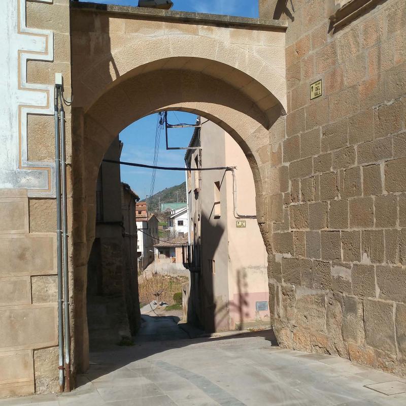 12.03.2017 portal  Torà -  Ramon Sunyer