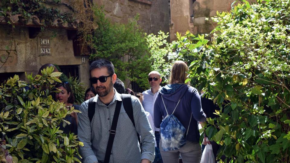 14.04.2017 Passejant per la vilavella  Torà -  Ramon Sunyer