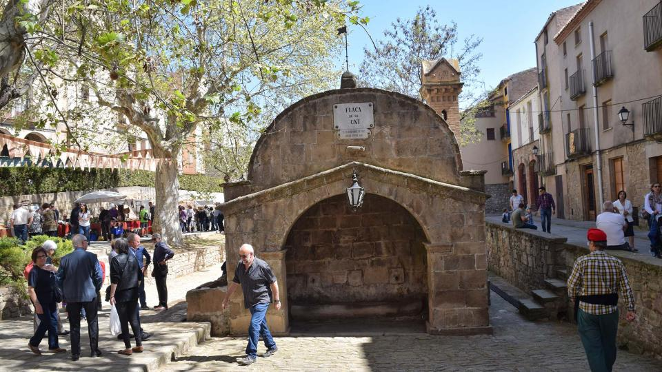 14.04.2017 plaça de la Font  Torà -  Ramon Sunyer