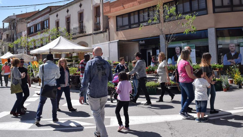 14.04.2017 Plaça de la Creu  Torà -  Ramon Sunyer