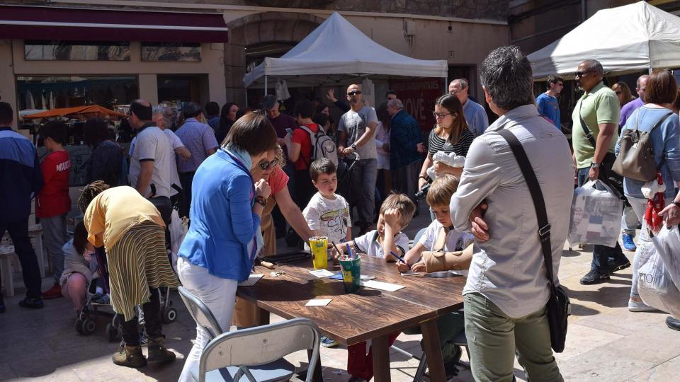 14.04.2017 Plaça del Pati  Torà -  Ramon Sunyer
