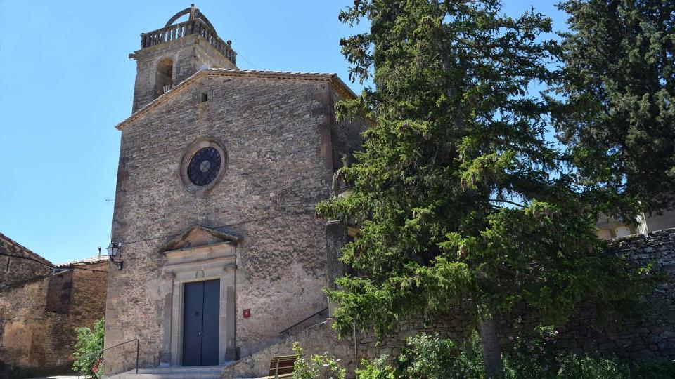 Església de  Sant Pere - Autor Ramon Sunyer (2017)