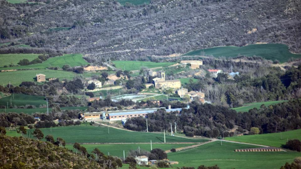 08.04.2017 Vista des de Pinós  Vallmanya -  Ramon Sunyer