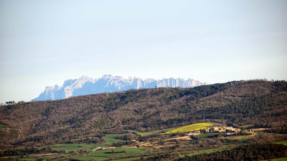 08.04.2017 Vista des de Pinós  Prades de la Molsosa -  Ramon Sunyer