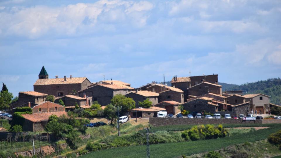 07.05.2017 vista  Prades de la Molsosa -  Ramon Sunyer