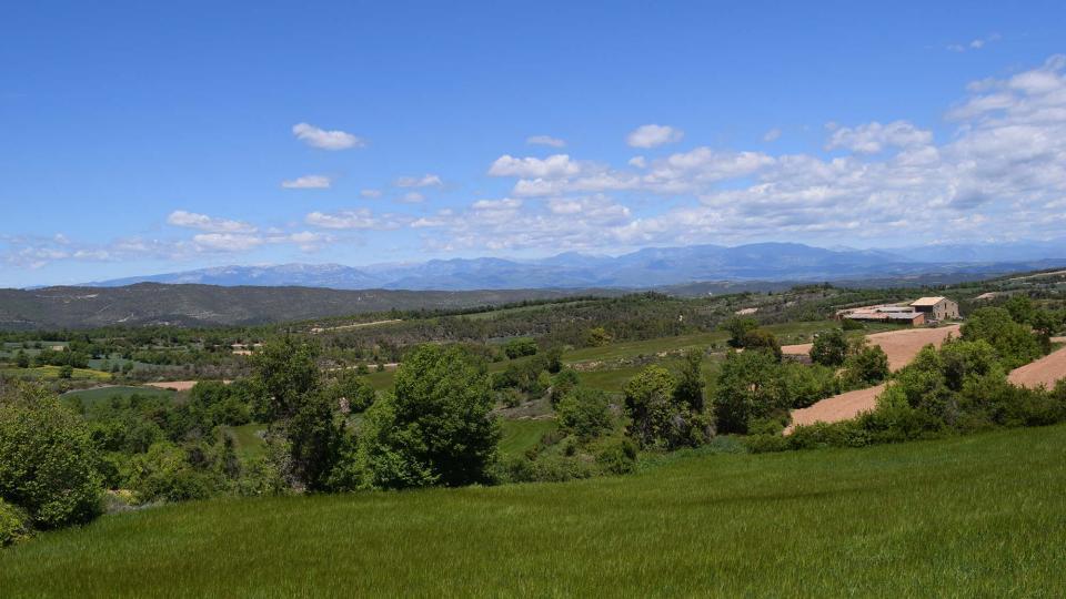 07.05.2017 paisatge  Prades de la Molsosa -  Ramon Sunyer