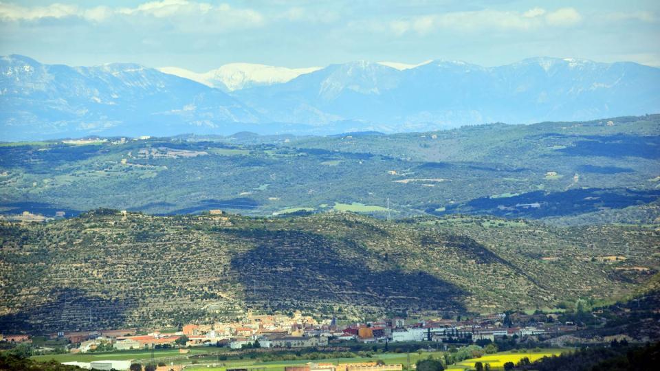 29.04.2017 vista del poble  Torà -  Ramon Sunyer