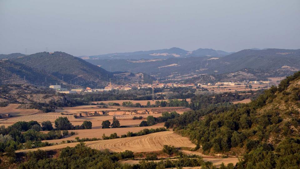 24.06.2017 Vista des de Talteüll  Torà -  Ramon Sunyer