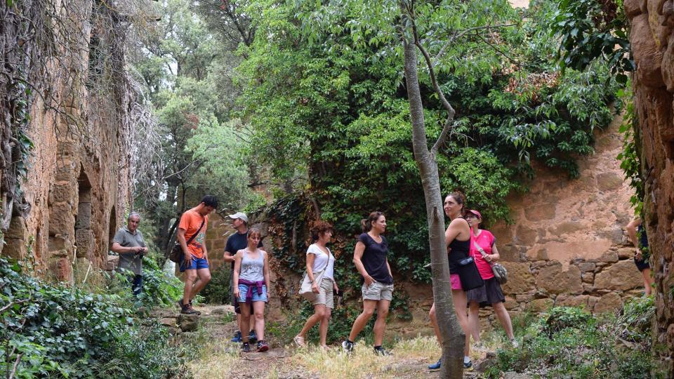 Visita al poble vell Foto: Ramon Sunyer - Vallferosa