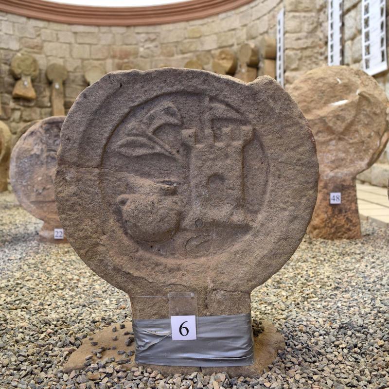 Museu de  Esteles funeràries - Autor Ramon Sunyer (2017)