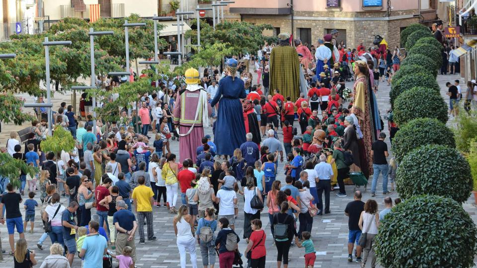 Festa Major 2017: trobada de gegants