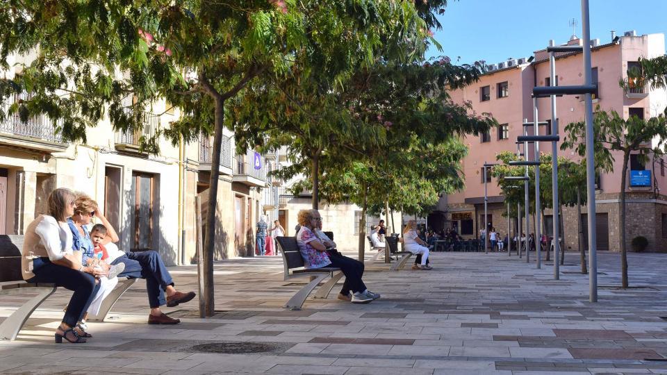 02.09.2017 Plaça del Vall  Torà -  Ramon Sunyer