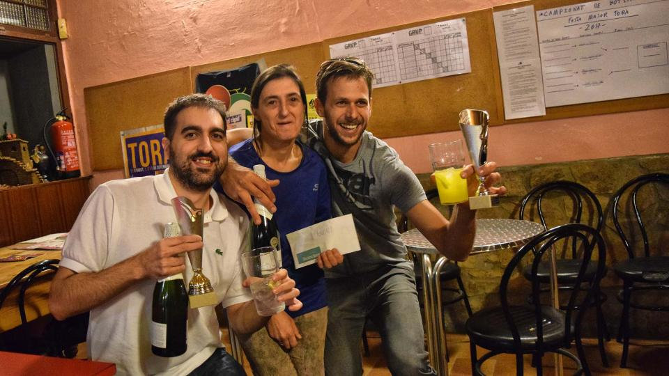 02.09.2017 Marc Oller i Joan Vilaseca campions  Torà -  Ramon Sunyer