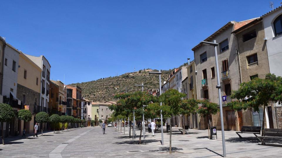 01.09.2017 plaça del Vall  Torà -  Ramon Sunyer