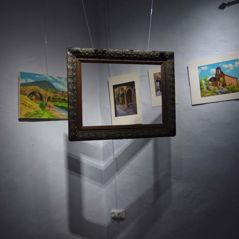 01.09.2017 Pintures de Joan Canó al museu de cal Gegó  Torà -  Ramon Sunyer