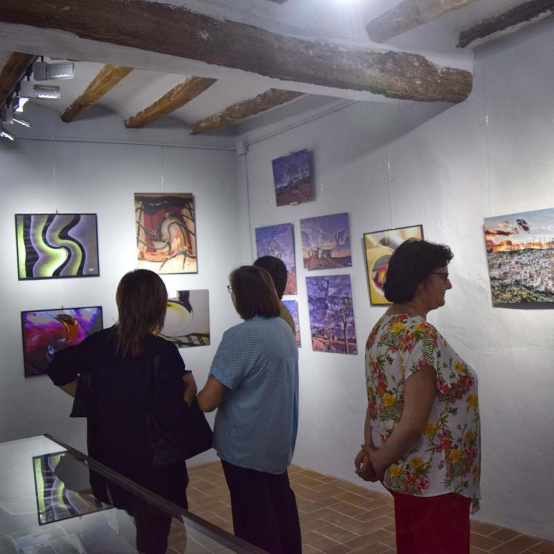01.09.2017 Exposició homenatge a Josep Gatnau al museu de cal Gegó  Torà -  Ramon Sunyer