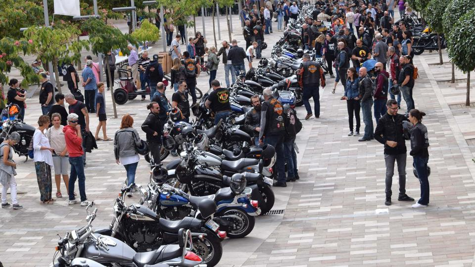 Festa Major 2017: trobada motos Harley Davidson