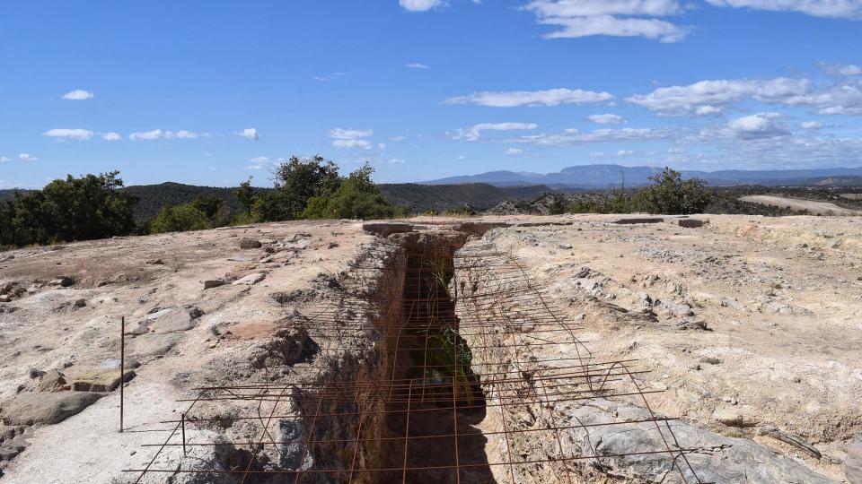 11.09.2017 Jaciment romà de Puig_Castellar  Biosca -  Ramon Sunyer