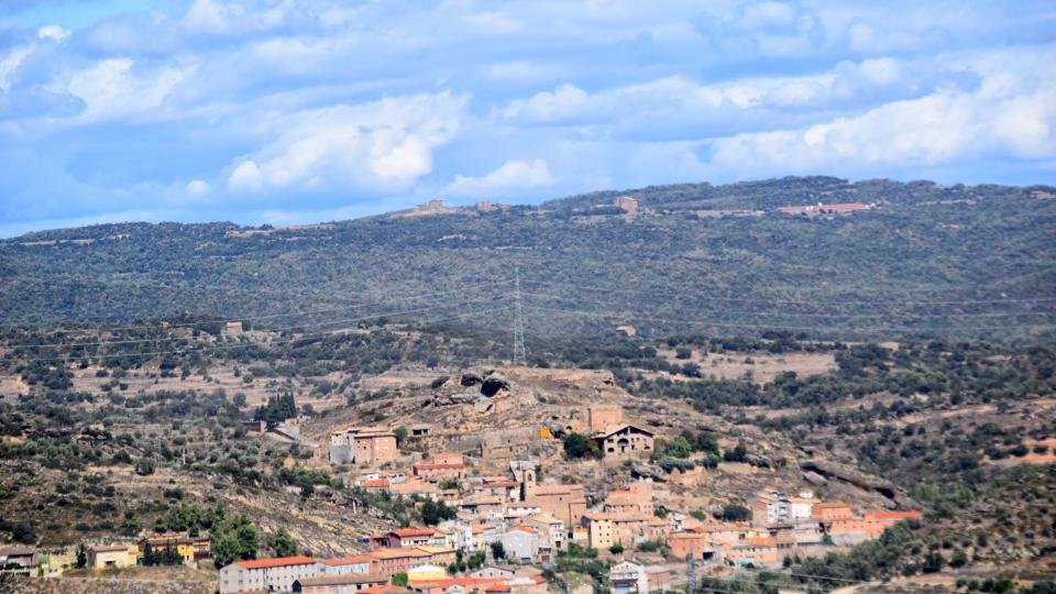 Vista de Biosca des de Puig_Castellar - Biosca