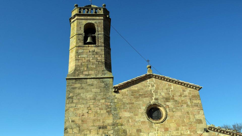 18.02.2017 Església de sant Miquel  Lloberola -  Ramon Sunyer