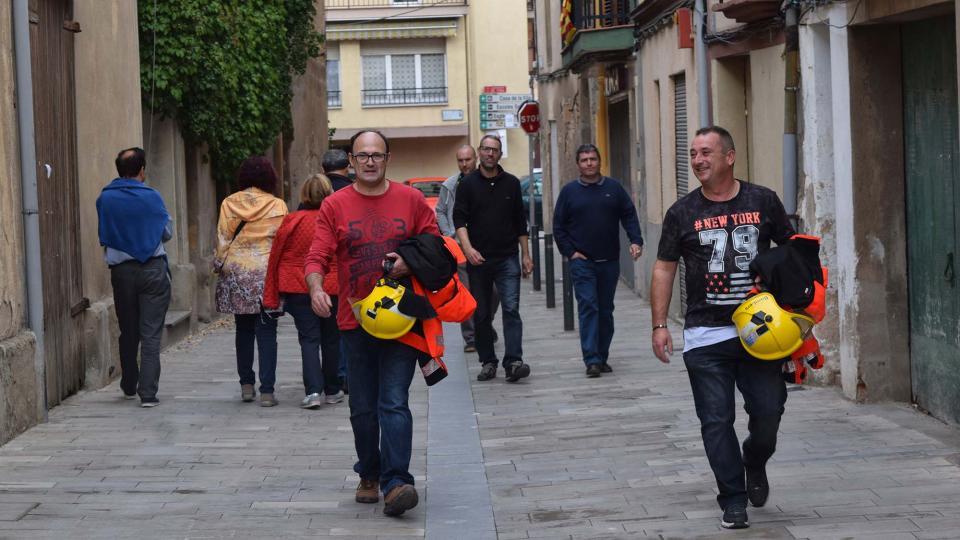 01.10.2017 els bombers voluntaris  Torà -  Ramon Sunyer