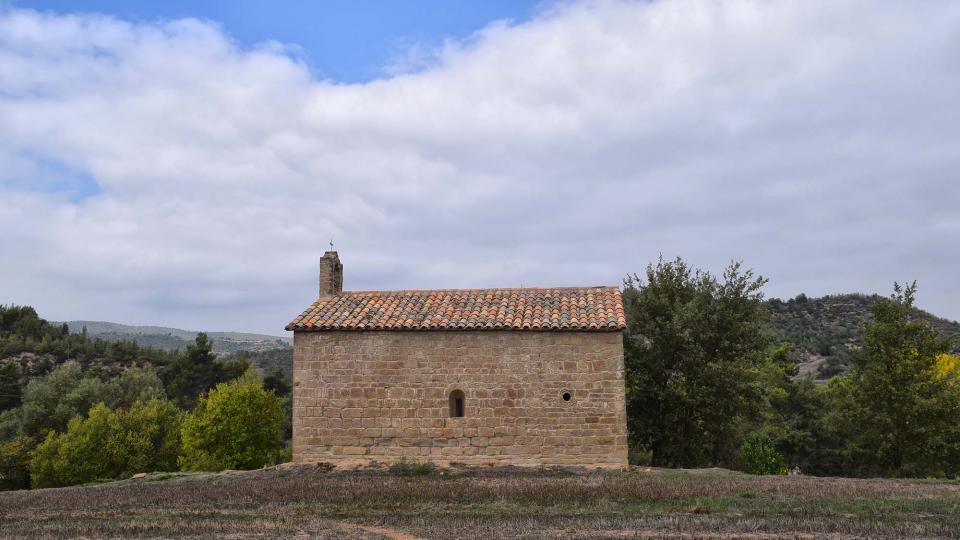 Capella de  Sant Pelai de l'Oliva - Autor Ramon Sunyer (2017)