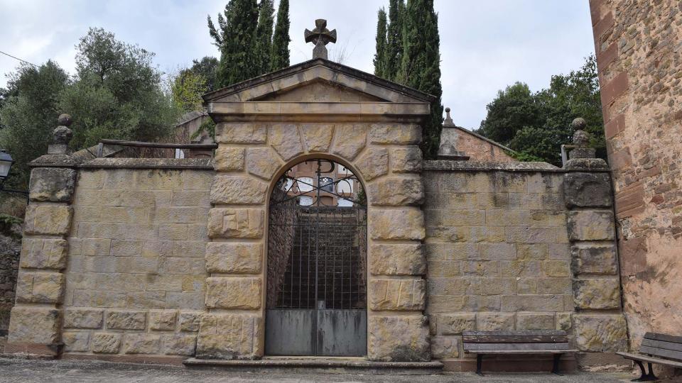 15.10.2017 cementiri  Matamargó -  Ramon Sunyer