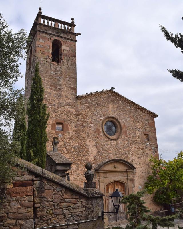 15.10.2017 Església de sant Pere barroc s XVII  Matamargó -  Ramon Sunyer
