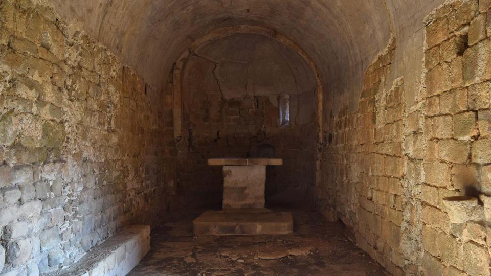 Ermita Sant Pere de Figuerola - Autor Ramon Sunyer (2017)