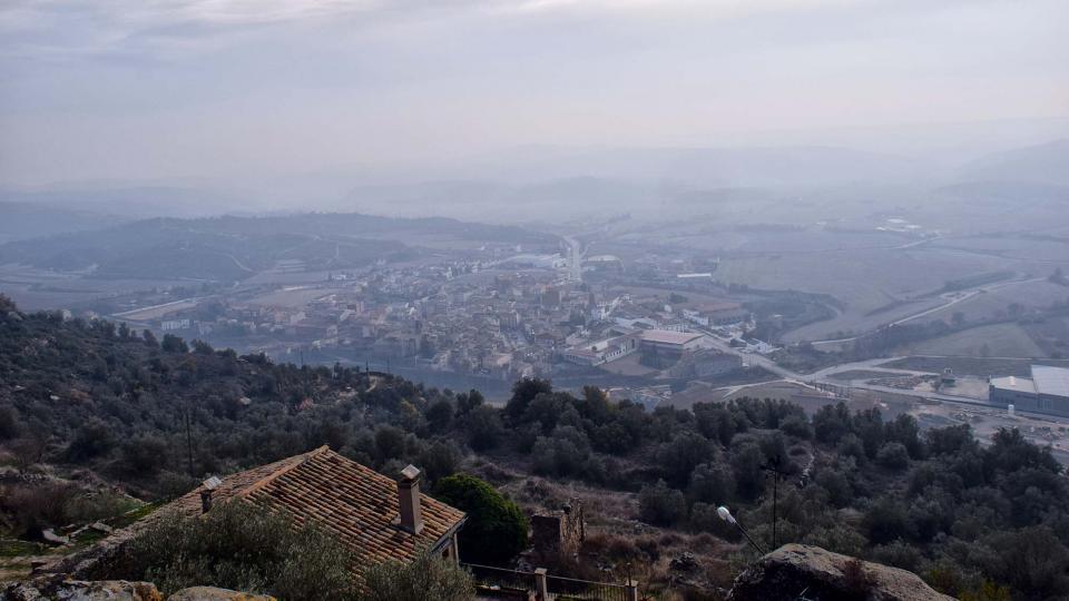 08.12.2017 Vista des de l'Aguda  Torà -  Ramon Sunyer